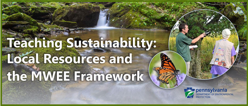 Teaching Sustainability: Local Resources and the MWEE Framework